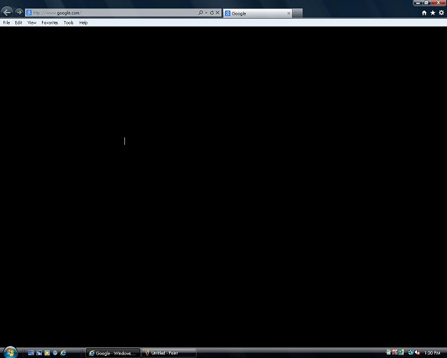Google Chrome чёрный экран - фото 6